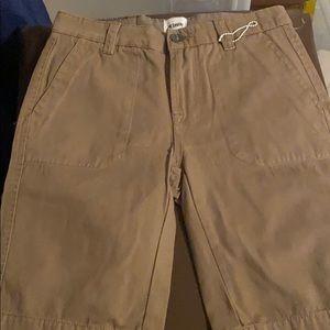 Hudson Dark khaki shorts